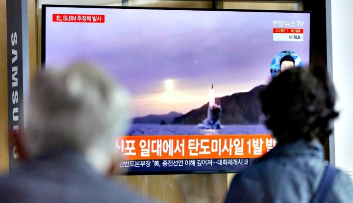 Pakar Pertahanan Ingatkan Jangan Lengah dengan Rudal Balistik Kapal Selam Korea Utara