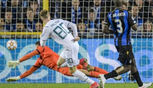 Dua gol Mahrez Antarkan Kemenangan City atas Club Brugge
