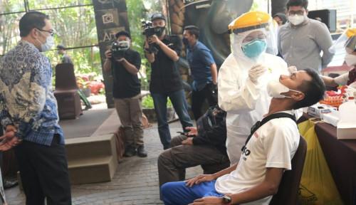 Tinjau Kontingen PON Jabar Pemulihan, Ridwan Kamil: Proses Sesuai Regulasi