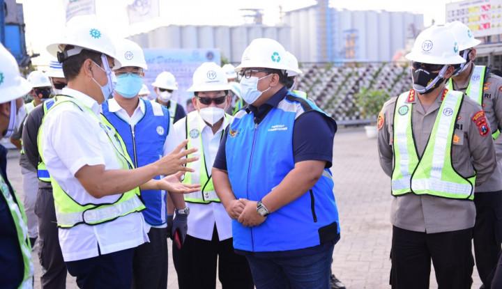 Tetap Jalan Meski Pandemi, Komut PTPP Harap Proyek Dermaga Terminal Berlian Selesai Tepat Waktu