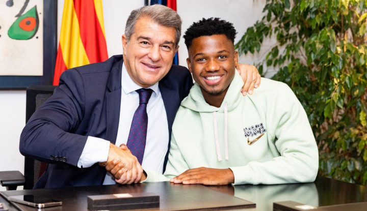 Barcelona Perpanjang Kontrak Fati, Nilainya Bikin Geleng Kepala