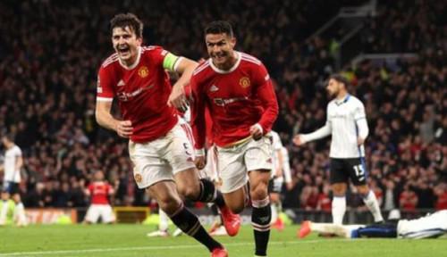 Kontra Atalanta, Manchester United Menang dengan Deg-degan