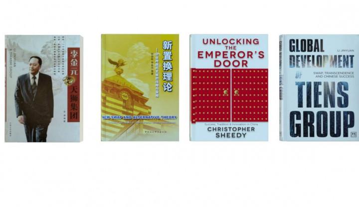 CEO Tiens Group Luncurkan Buku Tentang Konsep Reorganisasi di Era Digital