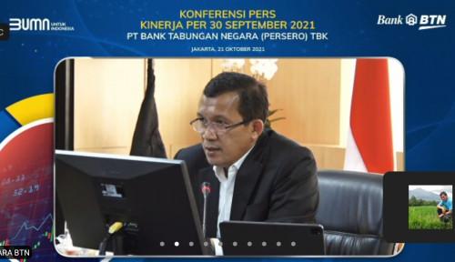 Salut, Laba Bersih BTN Melesat 35,32% di Kuartal III 2021