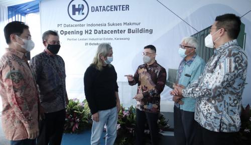 Kompleks Data Center Milik Salim dan DCI Siap Beroperasi, Axton Salim: Ini Hanya Permulaan!