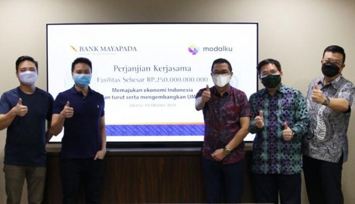 Bank Mayapada Gandeng Modalku Berikan Penyaluran Kredit Bagi UMKM