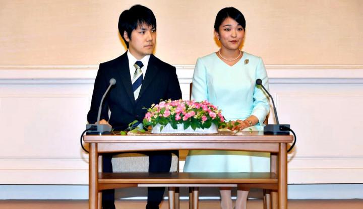 Mantan Putri Mako Jepang, Kei Komuro: Sedih atas Laporan yang Salah