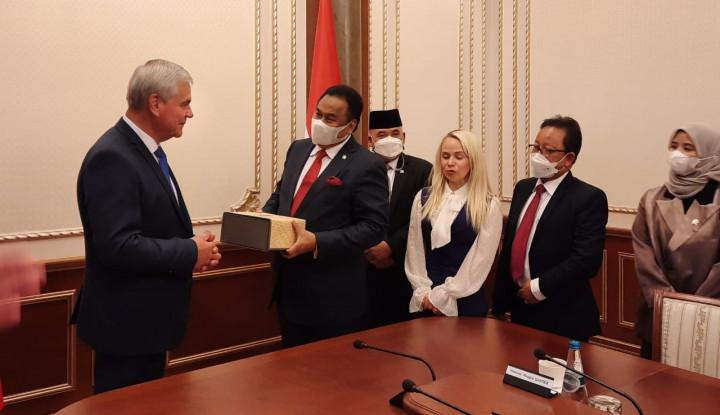 Rachmat Gobel Lakukan Diplomasi Herbal di Belarusia