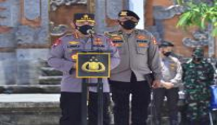 Pimpin Apel Pasukan Sambut Wisman di Bali, Kapolri: Sebagai Gerbang Terakhir, Tolong...