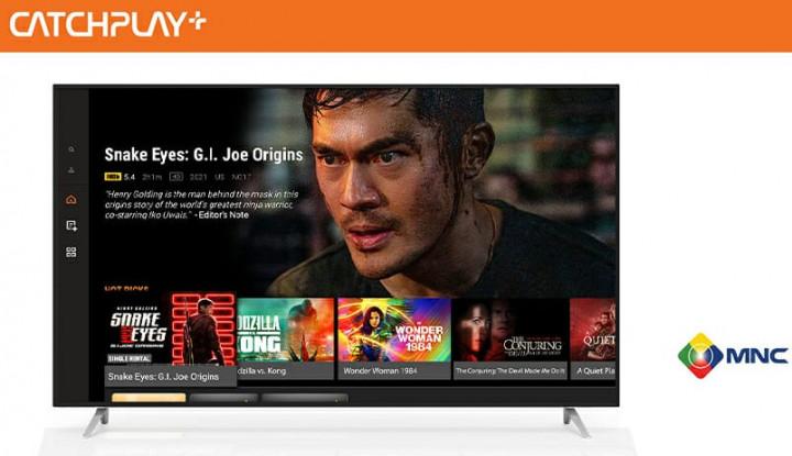 CATCHPLAY+ Gandeng MNC Vision Networks untuk Tingkatkan Langganan OTT Streaming di Indonesia