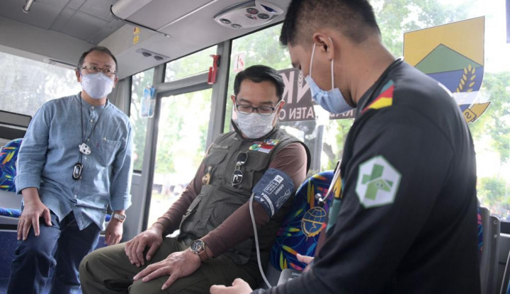 Ridwan Kamil Dorong Percepatan Vaksinasi di Cianjur
