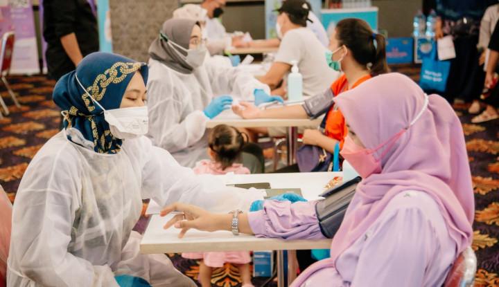 Le Minerale Gandeng POGI Hadirkan Sentra Vaksin Peduli Ibu Hamil