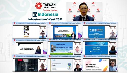 Produk Inovatif Taiwan akan Hadir secara Daring di Indonesia Infrastructure Week