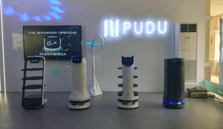 Sasar Pasar Indonesia, PUDU Robot Hadir di Jakarta