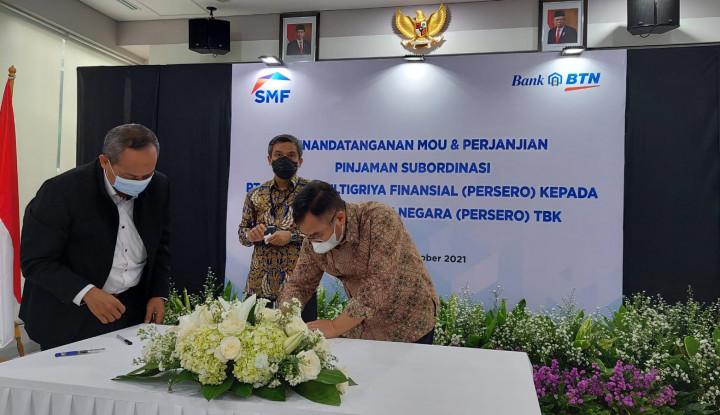 Dukung Peningkatan Peran BTN di PEN, SMF Alirkan Pinjaman Subordinasi Rp1,5 Triliun