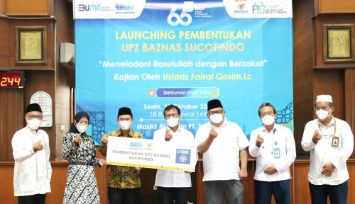 Optimalkan Potensi ZIS di Indonesia, Baznas dan Sucofindo Resmikan UPZ BAZNAS SUCOFINDO