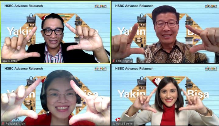 Garap Pasar Milenial, HSBC Indonesia Andalkan HSBC Advance Terbaru